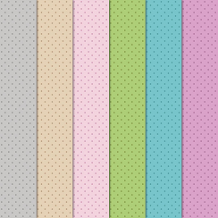 Craft Creations Pale Coloured Dots