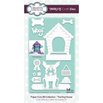 Creative Expressions Paper Cuts 3D Collection The Dog House Craft Die