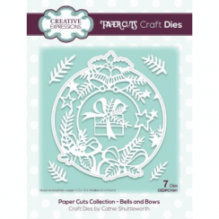Creative Expressions Paper Cuts Collection - Bells and Bows