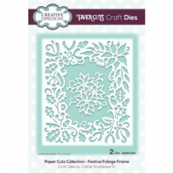 Creative Expressions Paper Cuts Collection - Festive Foliage Frame