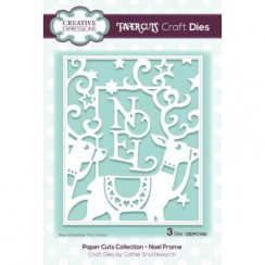 Creative Expressions Paper Cuts Collection - Noel Frame
