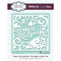 Creative Expressions Paper Cuts Collection - Partridge in a Pear Tree