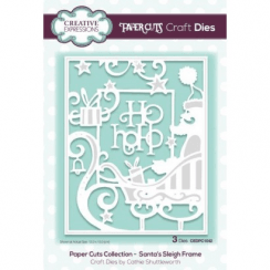 Creative Expressions Paper Cuts Collection - Santas Sleigh Frame