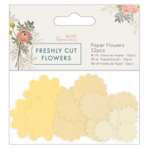 Docrafts Paper Flowers (32pcs) - Freshly Cut Flowers