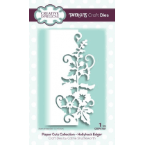 Creative Expressions Papercuts Craft Die-Hollyhock Edger