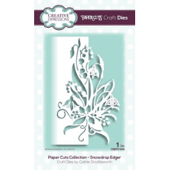 Creative Expressions Papercuts Craft Die-Snowdrop Edger