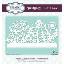 Creative Expressions Papercuts Craft Die - Thistle Patch