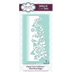 Creative Expressions Papercuts Craft Die - Wild Rose Edger