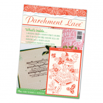 Tattered Lace Parchment Lace Magazine - Christmas Special