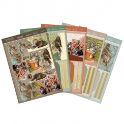 Hunkydory Paws For Thought - Delightful Decoupage Book Cards