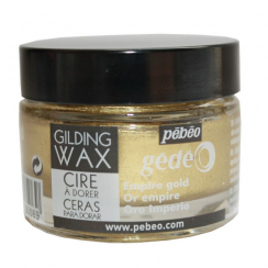 Crafters Companion Pebeo Gilding Wax Empire Gold - 30ml pot