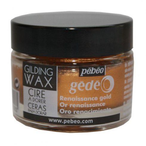 Crafters Companion Pebeo Gilding Wax Renaissance Gold - 30ml pot