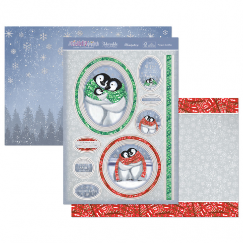 Hunkydory Penguin Cuddles Luxury Topper Set