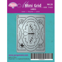 Pergamano Mini Grid 20 Labels