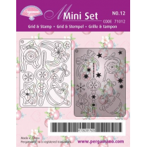Pergamano Mini Set 12 Baubles