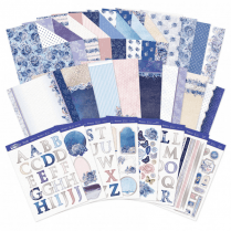 Hunkydory Personally Yours - Blossoming Blues Luxury Card Collection