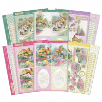 Hunkydory Picket Fence Decoupage Card Kit