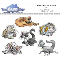 The Card Hut PRECIOUS PETS - STAMP SET