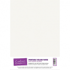 Crafters Companion Printable Vellum Paper