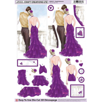 Craft Creations Purple Romance