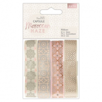 Docrafts Ribbon (4 x 1m) - Capsule - Moroccan Haze