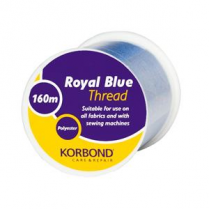 Korbond Royal Blue Thread 160m