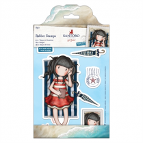 Gorjuss Rubber Stamps - Santoro - Summer Days