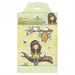 Docrafts Rubber Stamps - Santoro - The Little Leaf