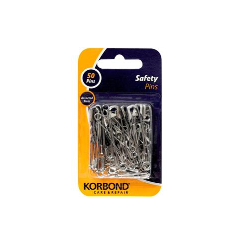 Korbond Safety Pins 50pcs