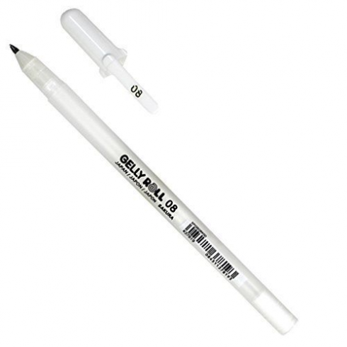 Sakura Basic White Gel Pen 08