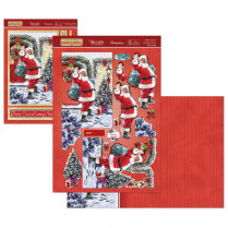 Hunkydory Santa Claus is Coming to Town Deco-Large Set