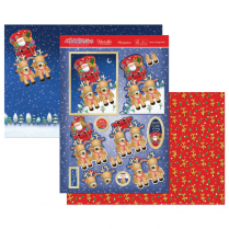 Hunkydory Santas Sleigh Ride Luxury Topper Set