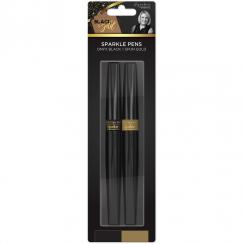 Crafters Companion Sara Signature Collection Black & Gold - Sparkle Pens (2pk)
