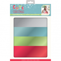 Crafters Companion Sara Signature Collection Cute Christmas - A4 Luxury Mirror Card
