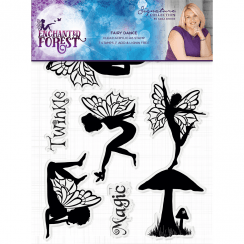 Crafters Companion Sara Signature Collection Enchanted Forest - A6 Acyrlic Stamp - Fairy Dance
