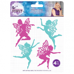 Crafters Companion Sara Signature Collection Enchanted Forest - Metal Die - Frolicking Fairies