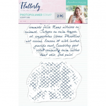 Crafters Companion Sara Signature Collection Flutterby Photopolymer Stamp - Scripture