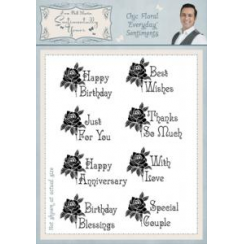 Phill Martin Sentimentally Yours A5 Stamps BA2949