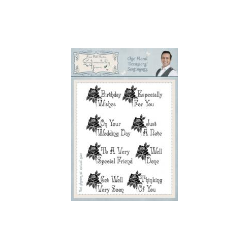 Phill Martin Sentimentally Yours A5 Stamps BA2950