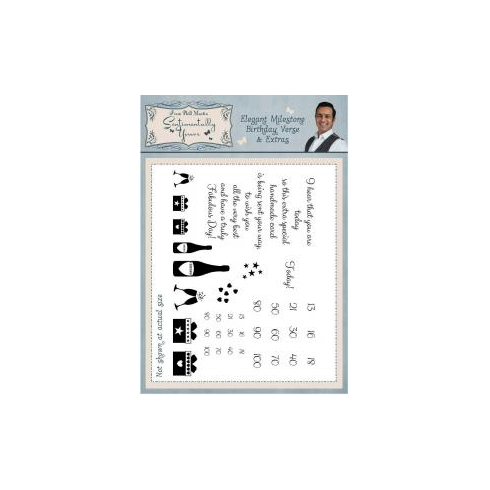 Phill Martin Sentimentally Yours A5 Stamps