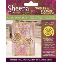 Sheena Create a Flower Metal Die - Going in Spirals