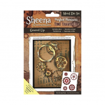 Sheena Perfect Partners Time Traveller Metal Die - Geared Up
