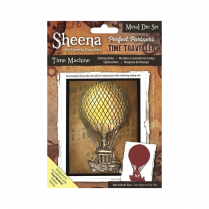 Sheena Perfect Partners Time Traveller Metal Die - Time Machine