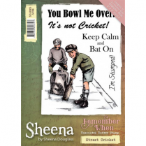 Sheena Remember When Stamp - Street Cricket