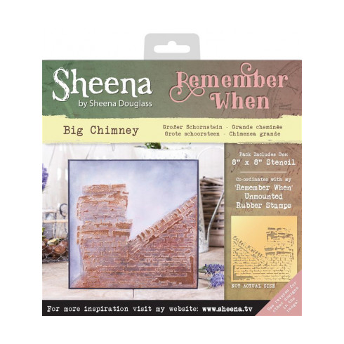 Sheena Remember When Stencil - Big Chimney