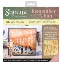 Sheena Remember When Stencil - Street Footie
