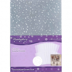 Hunkydory Snowfall Acetate - Extra Value Pack (32 for the price of 24)