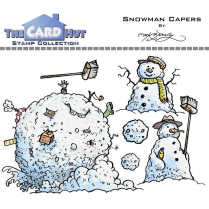 The Card Hut SNOWMAN CAPERS - STAMP SET