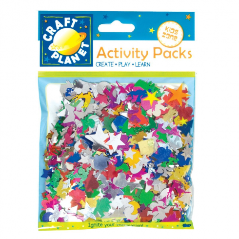 Craft Planet Spangle Mix 50g - Assorted Colours