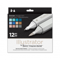 Spectrum Noir Illustrator 12pk - Seascape